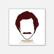 Ron Burgundy Face Sticker