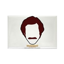 Ron Burgundy Face Magnets