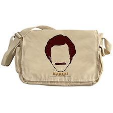 Ron Burgundy Face Messenger Bag