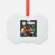 The Origin of Bagpipes Ornament