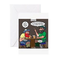 The Origin of Bagpipes Greeting Cards