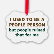 People Person Humor Ornament