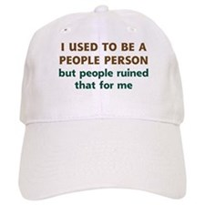People Person Humor Baseball Cap