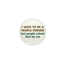 People Person Humor Mini Button (10 pack)