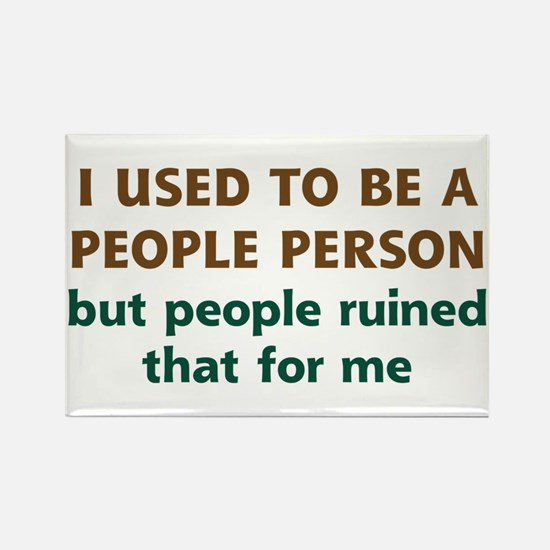 People Person Humor Rectangle Magnet