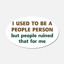 People Person Humor Wall Decal