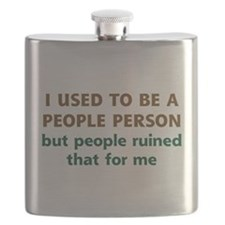 People Person Humor Flask