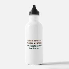 People Person Humor Water Bottle