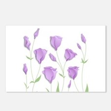 Lilac Flowers Postcards (Package of 8)