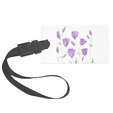 Lilac Flowers Luggage Tag