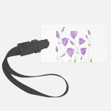 Lilac Flowers Luggage Tag