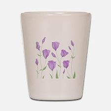 Lilac Flowers Shot Glass