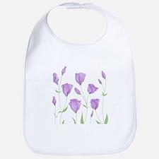 Lilac Flowers Bib