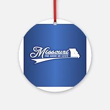 Missouri State of Mine Ornament (Round)