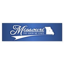 Missouri State of Mine Bumper Bumper Sticker