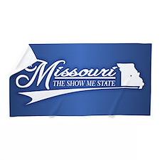 Missouri State of Mine Beach Towel
