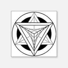 Merkabah Star Tetrahedron Sticker