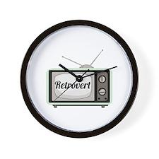Retrovert Wall Clock