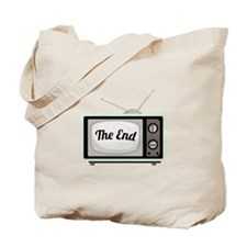 The End TV Tote Bag