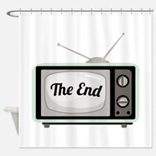 The End TV Shower Curtain