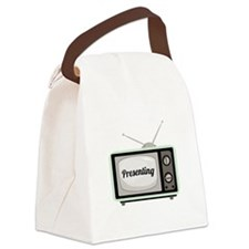 Presenting TV Canvas Lunch Bag