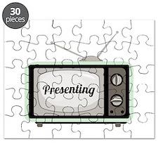 Presenting TV Puzzle