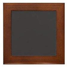 Gray Solid Color Framed Tile