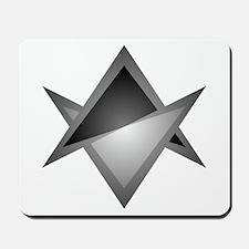 Unicursal Hexagram Chevron Mousepad