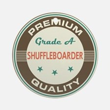 Shuffleboarder Vintage Ornament (Round)