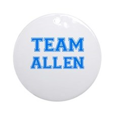 TEAM ALLEN Ornament (Round)