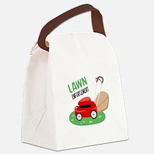 Lawn Enforcement Canvas Lunch Bag