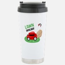 Lawn Enforcement Travel Mug