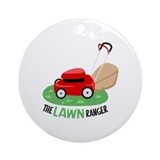 The Lawn Ranger Ornament (Round)