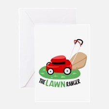 The Lawn Ranger Greeting Cards