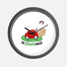 The Lawn Ranger Wall Clock
