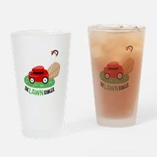 The Lawn Ranger Drinking Glass