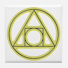 Classic Alchemy Tile Coaster