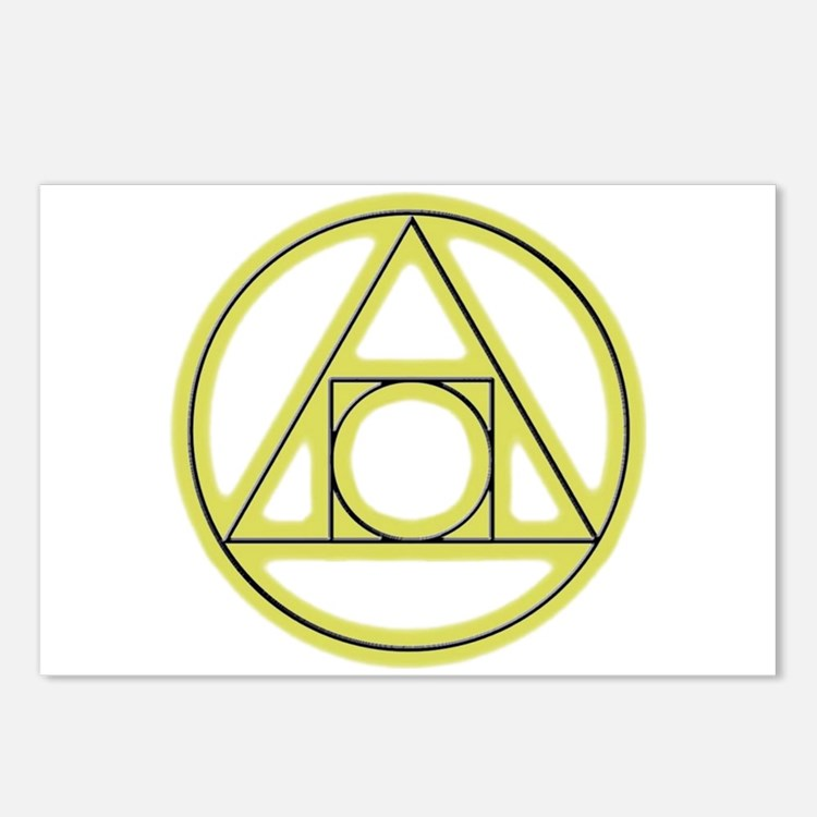 Classic Alchemy Postcards (Package of 8)