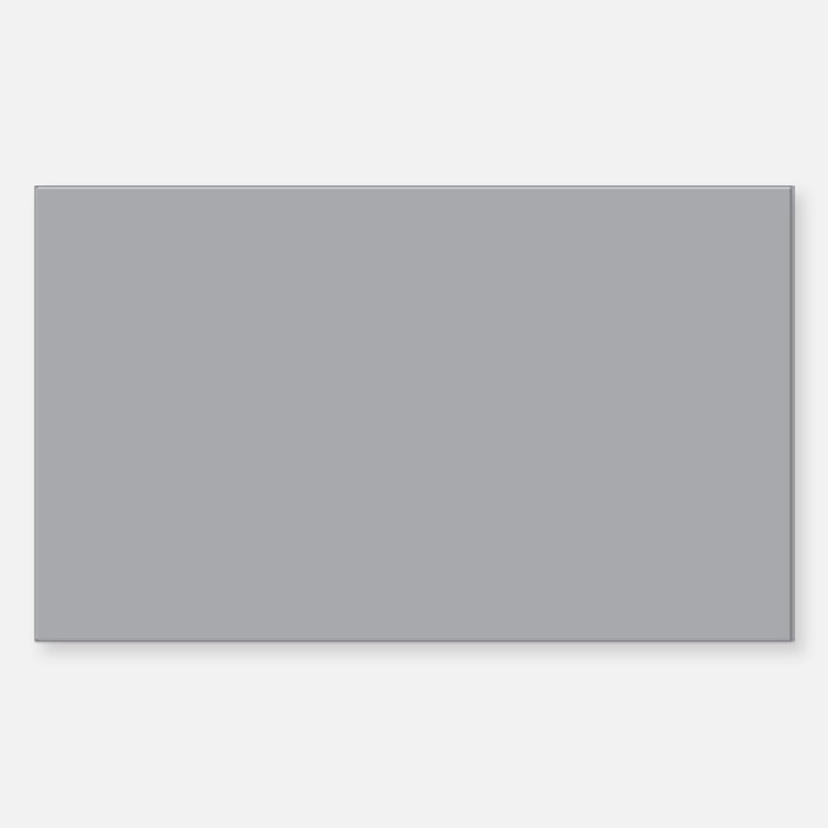 Light Gray Solid Color Decal