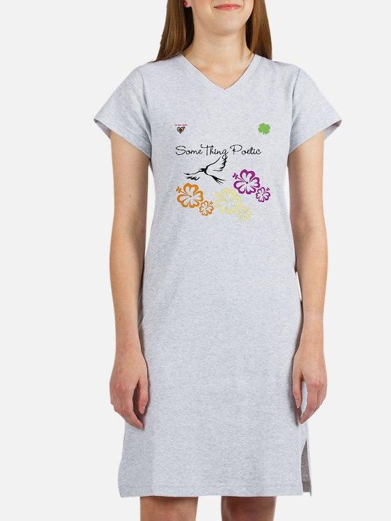 Cute Poetic Women's Nightshirt