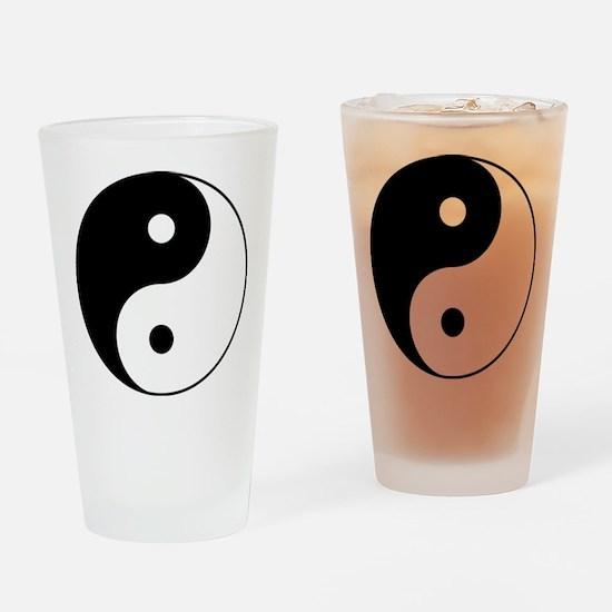 Classic YinYang Drinking Glass