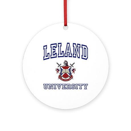 LELAND University Ornament (Round)