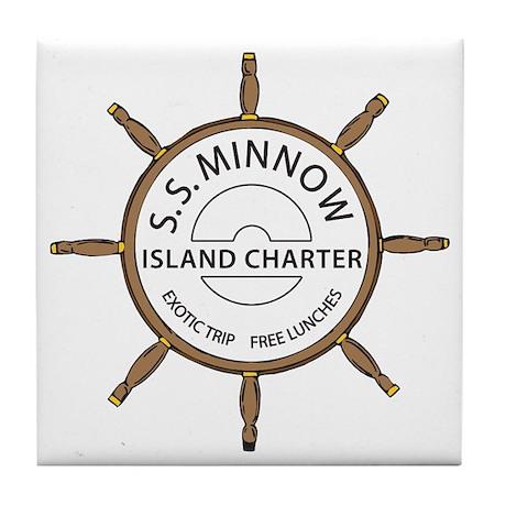 SS Minnow Tile Coaster