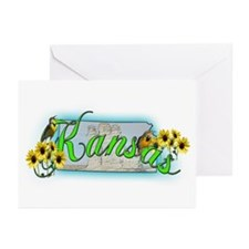 Kansas Greeting Cards (Pk of 10)