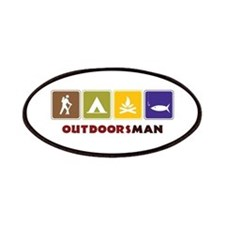 Out Doors Man Patches