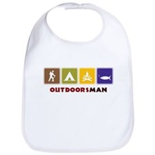 Out Doors Man Bib