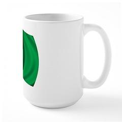 Wavy Libya Flag Large Mug