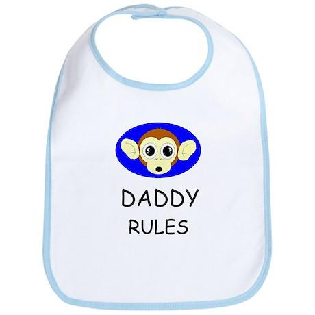 DADDY RULES Bib