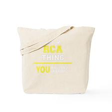 Unique Rca Tote Bag