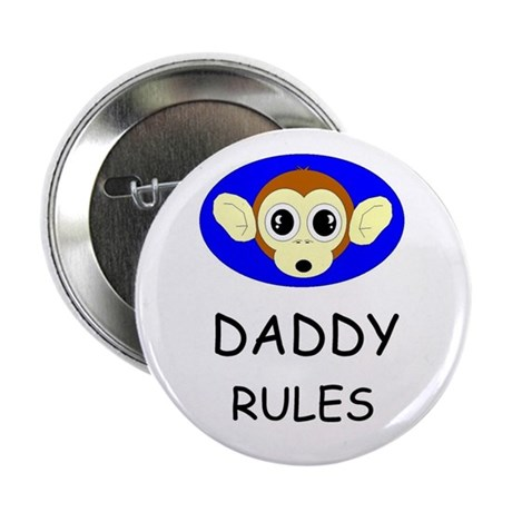"""DADDY RULES 2.25"""" Button (10 pack)"""